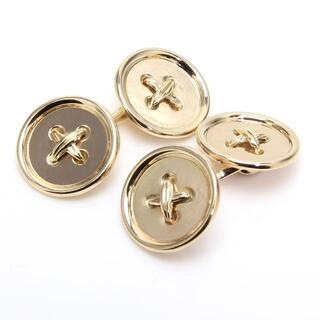 ティファニー(Tiffany & Co.)の美品 ティファニー カフス ボタン K14 14K Tiffany(カフリンクス)