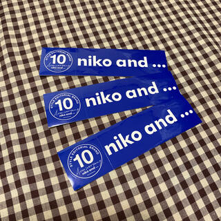 ニコアンド(niko and...)のニコアンド ステッカー(しおり/ステッカー)