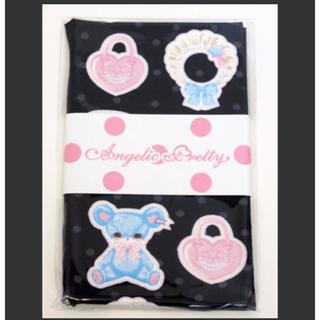 アンジェリックプリティー(Angelic Pretty)のfancy paper dolls タイツ クロ(タイツ/ストッキング)