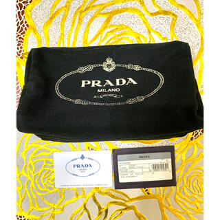 PRADA - PRADAプラダポーチ カナパ ブラック