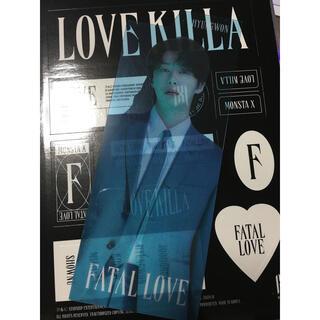 ヒォンウォン インデックスカード FATAL LOVE MONSTA X(K-POP/アジア)