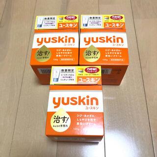ユースキン(Yuskin)の■新品未開封■ユースキンA120g×3個(ユースキンhanaサクラの香り付き)(ハンドクリーム)