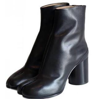 アパルトモンドゥーズィエムクラス(L'Appartement DEUXIEME CLASSE)のSRLリピ様専用 ラムレザー足袋ブーツ(ブーツ)