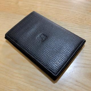 ロエベ(LOEWE)の正規 美品 LOEWE アナグラム カードケース 名刺入れ レザー パスケース(名刺入れ/定期入れ)
