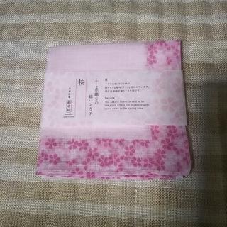 新品!ハンカチ 桜柄(ハンカチ)