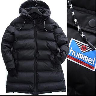 ヒュンメル(hummel)の新品 ヒュンメル 高密度 フード ダウンL 黒  メンズ (ダウンコート)