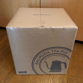 バルミューダ(BALMUDA)のBALMUDA The Pot K02A-BK ブラック (電気ケトル)