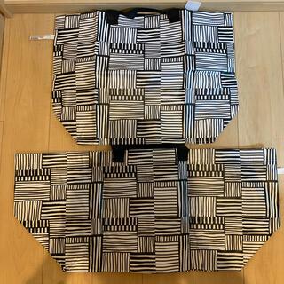 イケア(IKEA)のIKEA FISSLA フィスラ キャリーバッグ M+L各1点(ショップ袋)