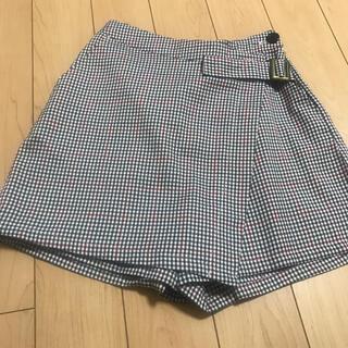 レピピアルマリオ(repipi armario)のレピピ/チェック柄スカート /キュロット/M(160)(スカート)
