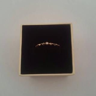 ジュピターゴールドレーベル(jupiter GOLD LABEL)の【期間限定お値下げ‼︎】ジュピター☆10K ダイヤリング(リング(指輪))