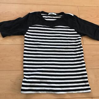 エムピーエス(MPS)のボーダー Tシャツ 140(Tシャツ/カットソー)