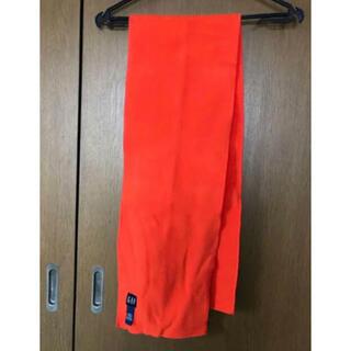 ギャップ(GAP)の【GAP】 フリースマフラー  かわいい 原色 オレンジ色(マフラー/ショール)
