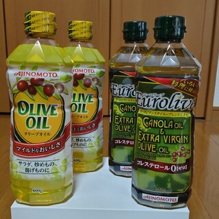 アジノモト(味の素)のAJINOMOTOユーロリーブ2本 オリーブオイル 2本(調味料)