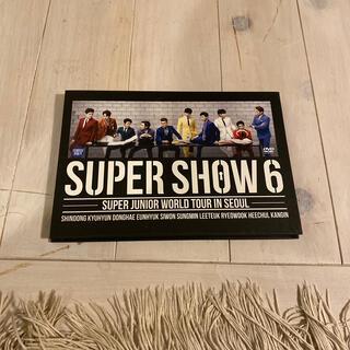 スーパージュニア(SUPER JUNIOR)のSUPER SHOW 6 IN SEOUL(ミュージック)