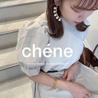 ロキエ(Lochie)の♡ gold chain bangle ♡(ブレスレット/バングル)