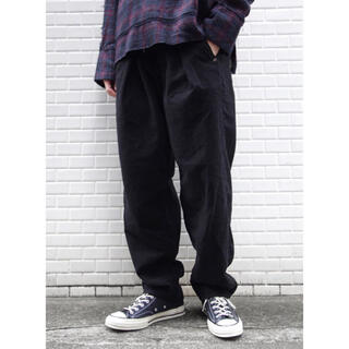 ジエダ(Jieda)のJieDa TUCK KERSEY PANTS BLACK 1(その他)