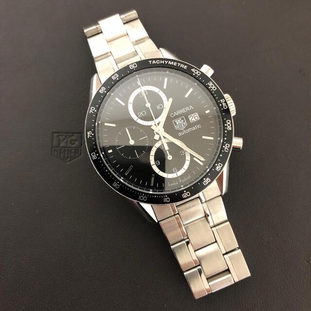 TAG Heuer(タグホイヤー)のTAG HEUER  タグ・ホイヤー  カレラ  CV2010-4 販売証明書有 メンズの時計(腕時計(アナログ))の商品写真