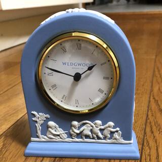 ウェッジウッド(WEDGWOOD)のウェッジウッド ジャスパー 置時計(置時計)