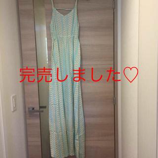 完売しました♡新品ハワイセレクトショップ♡マキシワンピ(ロングワンピース/マキシワンピース)