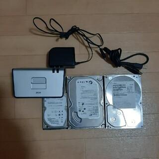 日立 - HDDクレイドル ハードディスク3種