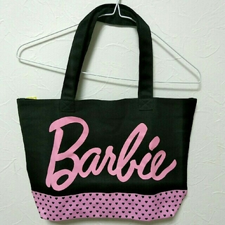 バービー(Barbie)のBarbie 黒 バッグ(トートバッグ)