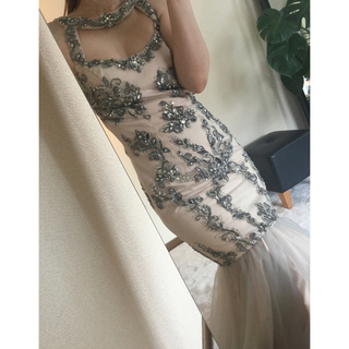 BCBGMAXAZRIA - TERANI couture ロングドレス