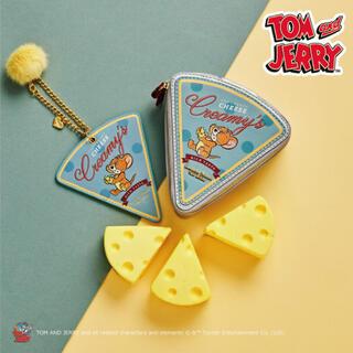 サマンサタバサプチチョイス(Samantha Thavasa Petit Choice)のトムとジェリー コラボ チーズ型 バッグチャーム サマンサタバサプチチョイス(キーホルダー)