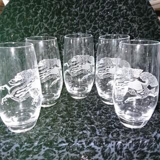 トウヨウササキガラス(東洋佐々木ガラス)のキリングラス(5点セット)(グラス/カップ)