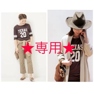 DEUXIEME CLASSE - ドゥーズィエムクラス PAN TEXAS 20 Tシャツ