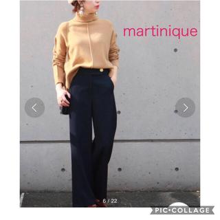 マルティニークルコント(martinique Le Conte)のマルティニーク ウールタートルネックプルオーバー ハイネック ニット キャメル(ニット/セーター)