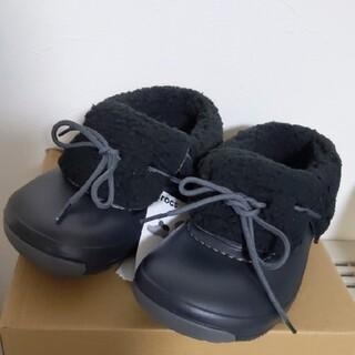 クロックス(crocs)のCROCS 黒 ボア 6490円 ブリッツェン ラックス コンバーチブル(ブーツ)