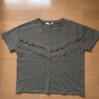 レトロガール(RETRO GIRL)のレトロガール♪フリンジTシャツ(Tシャツ(半袖/袖なし))