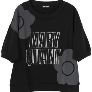 マリークワント(MARY QUANT)のマリークワントBIG2デイジーロゴプルオーバー(カットソー(長袖/七分))