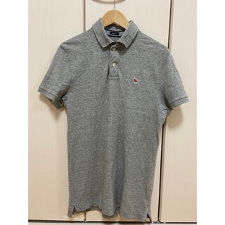 アバクロンビーアンドフィッチ(Abercrombie&Fitch)のアバクロンビー&フィッチ ポロシャツ グレー 灰(ポロシャツ)