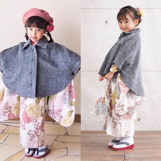 ひよこ商店 七五三 セット 3歳 utatane(和服/着物)