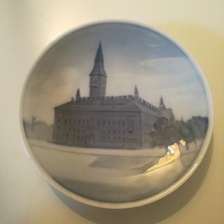ロイヤルコペンハーゲン(ROYAL COPENHAGEN)の☆ロイヤルコペンハーゲン☆飾り皿 風景画 小皿 アンティーク ヴィンテージ(食器)