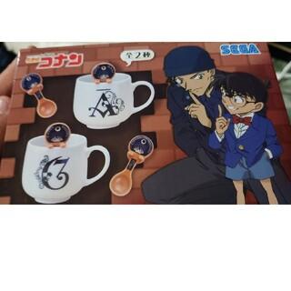 セガ(SEGA)の名探偵コナン プレミアムスプーン付きマグカップ(グラス/カップ)