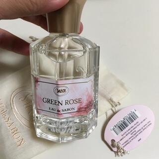 サボン(SABON)のsabon green rose オードサボン(香水(女性用))