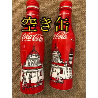 コカコーラ(コカ・コーラ)のコカコーラ 空き缶 パリ カルチェラタン(その他)