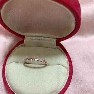 ジュエリーツツミ(JEWELRY TSUTSUMI)の10k ピンクゴールド リング(リング(指輪))