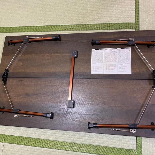Coleman(コールマン)のコールマンバタフライテーブル120 インテリア/住まい/日用品の机/テーブル(アウトドアテーブル)の商品写真