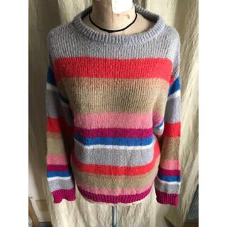 アングリッド(Ungrid)のungrid 新品未使用 マルチカラー セーター(ニット/セーター)