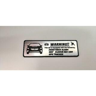 スバル(スバル)の新型 レヴォーグ 盗難防止 防犯 セキュリティ エンブレム 小 ステッカー(車外アクセサリ)