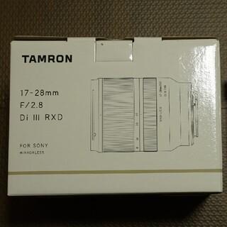 TAMRON - Tamron 17-28 F/2.8 Di Ⅲ RDX (HA046)