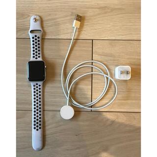 アップルウォッチ(Apple Watch)のApple Watch 3 Nike セルラーモデル 42mm(腕時計(デジタル))