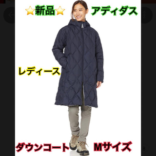 adidas - 新作 アディダス ライト ダウン コート M ベンチ ウィメンズ レディース
