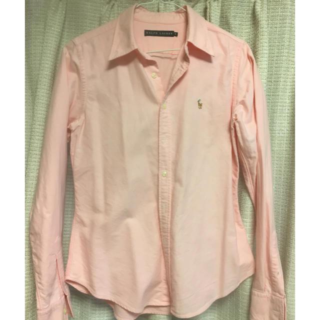 Ralph Lauren(ラルフローレン)のラルフローレン ピンクシャツ レディースのトップス(シャツ/ブラウス(長袖/七分))の商品写真