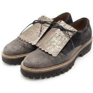 トゥモローランド(TOMORROWLAND)のペルティーニ pertini ローファー 革靴 ブラウン レザー ペルティニ(ローファー/革靴)