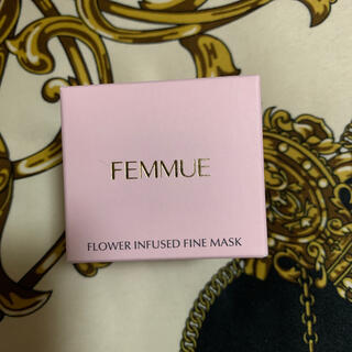 Cosme Kitchen - femmue フラワーインヒューズド ファインマスク お試しに