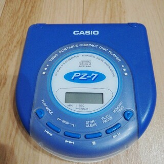 カシオ(CASIO)のCASIO ポータブルCDプレーヤー 動作不明(ポータブルプレーヤー)